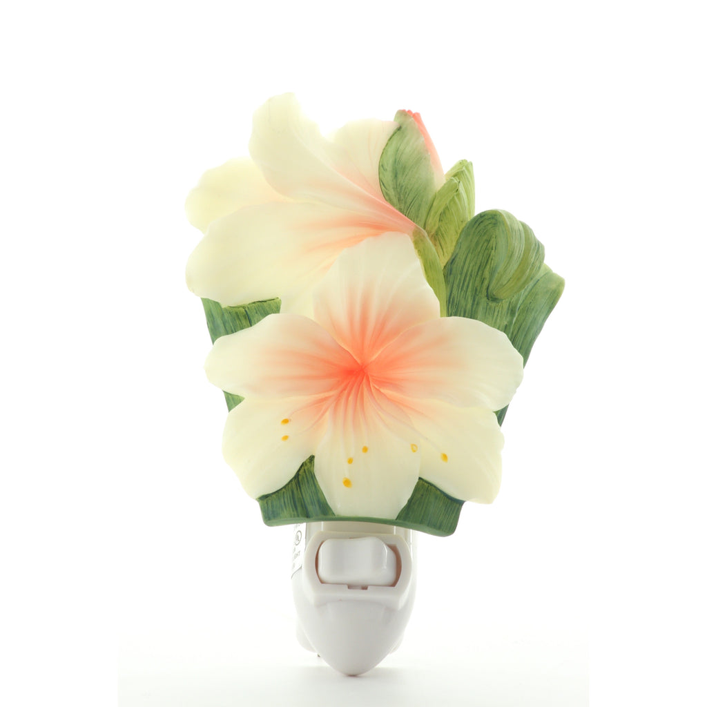 White Day Lily Night Light, Ibis & Orchid Nightlights, NIB, 50098 - ArtsiHome - Ibis&Orchid - 10