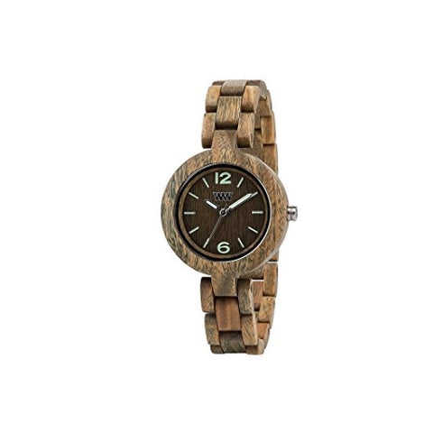 WeWood Lady's Mimosa Wooden Watch-Army - ArtsiHome - WeWood