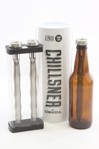Corkcicle Chillsner Beer Chiller, 2-Pack - ArtsiHome