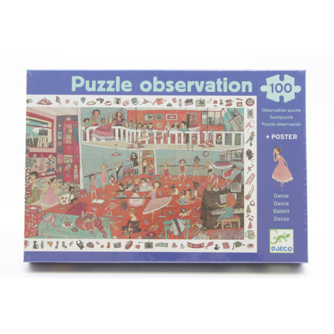 Dance Observation Puzzle - ArtsiHome - Djeco - 6