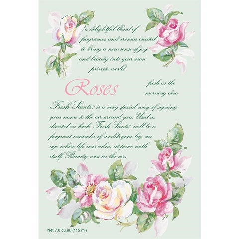 Fresh Scents Scented Sachets by Willowbrook - Roses, 6 Packs - ArtsiHome