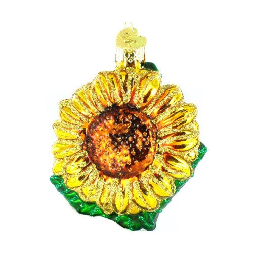 Old World Christmas Garden Sunflower Ornament - ArtsiHome - Old Christmas