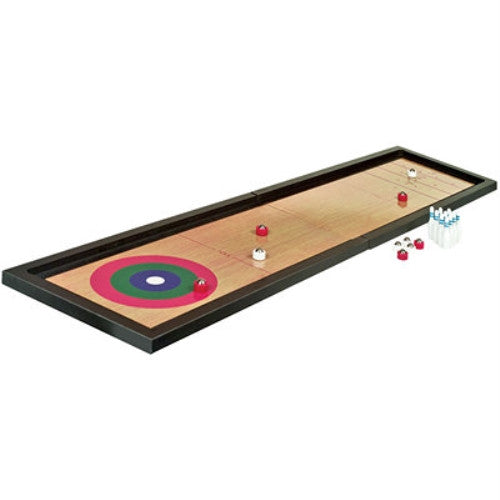Tabletop 3-in-1 Shuffleboard, Bowling, and Curling Game Set - ArtsiHome