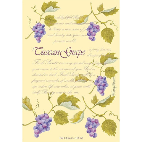 Fresh Scents Scented Sachets - Tuscan Grape, Lot of 6 - ArtsiHome