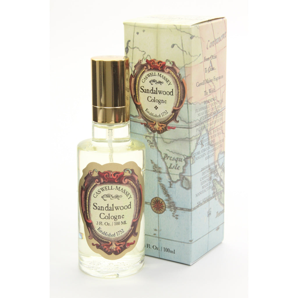 Caswell-Massey - Sandalwood Cologne Spray - 1.8 oz - ArtsiHome