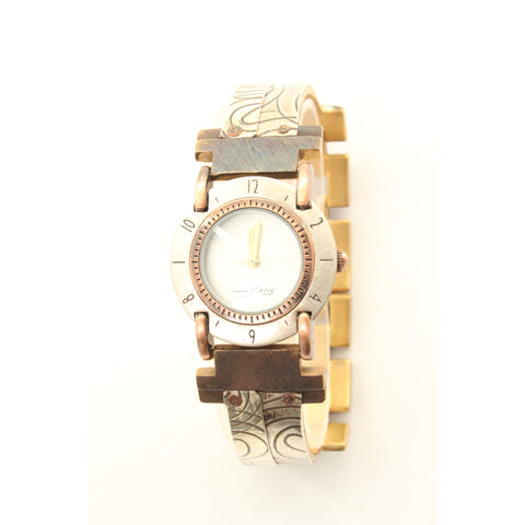 Watchcraft Limited Edition Unisex Watch w/ Small Round Face and White Dial - ArtsiHome - Watch Craft - 4