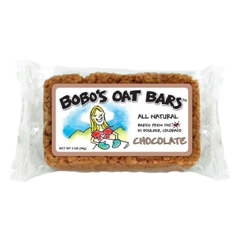Bobo's Oat Bars All Natural, Chocolate, 3-Ounce Packages (Pack of 12) - ArtsiHome