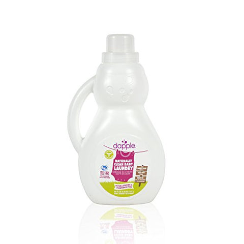 Dapple Baby Laundry Detergent, Fragrance Free, 50 Fluid Ounce (Pack of 4) - ArtsiHome