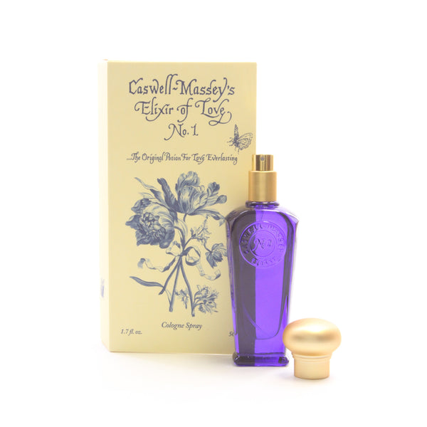 Caswell-Massey Cologne Spray, Elixer of Love, 1.7 oz - ArtsiHome