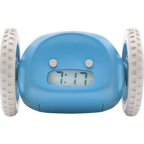 Clocky Alarm Clock on Wheels for Children - ArtsiHome