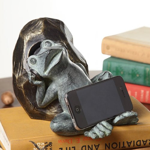 SPI Sleepy Frog Resin Cellphone Holder [Wireless Phone Accessory] - ArtsiHome