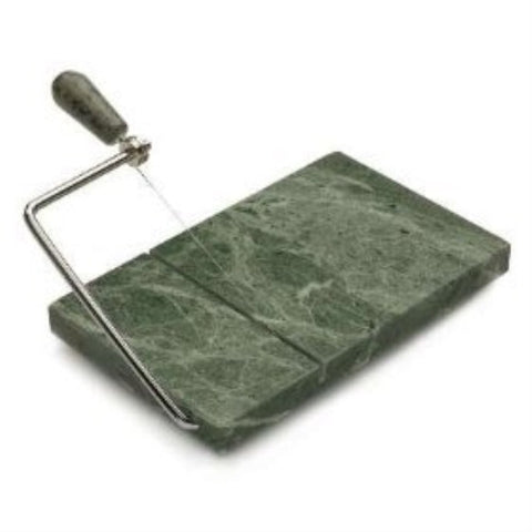 Green Marble Cheese Slicer w/Extra Wire - ArtsiHome