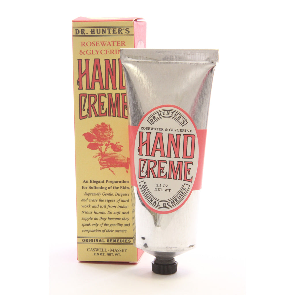 Caswell-Massey Dr. Hunter's Hand Creme, 2.5 Ounce - ArtsiHome