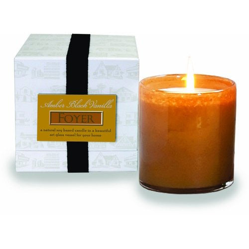 LAFCO House & Home Amber Black Vanilla Candle - Foyer-16 oz. - ArtsiHome
