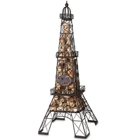 Epic Eiffel Tower Cork Cage Wine Cork Collector - ArtsiHome