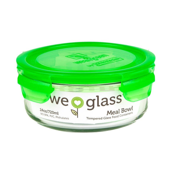 Wean Green Wean Meal Bowl, Pea Green, Single - 24 oz - ArtsiHome - Wean Green