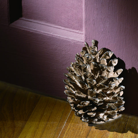 SPI Home Collection Aluminum Bronzed Finish Pinecone Doorstop - ArtsiHome