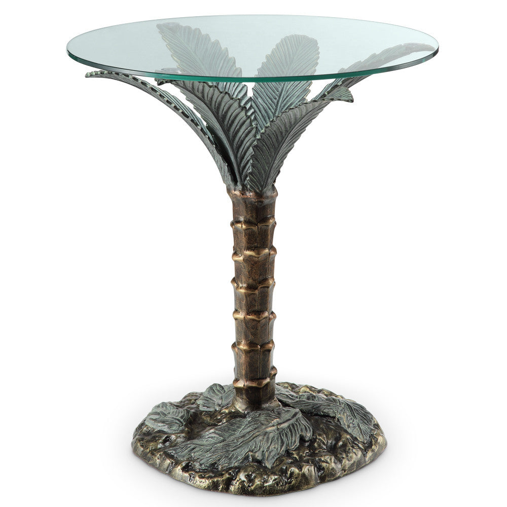 SPI Home Collection Palm Tree End Table - ArtsiHome