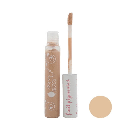 100% Pure Fruit Pigmented Brightening Concealer With Spf20 - Peach Bisque - ArtsiHome
