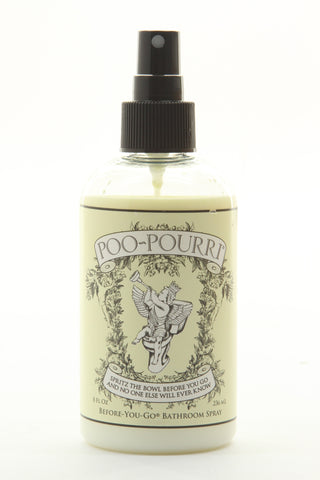 Poo-Pourri X-Large 8 oz bottle Original Scent bathroom toilet air freshner od... - ArtsiHome