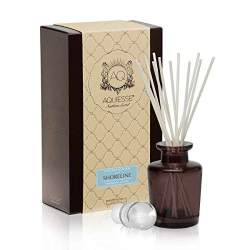 SHORELINE Reed Diffuser Reed Diffuser Portfolio Gift Boxed by Aquiesse - ArtsiHome