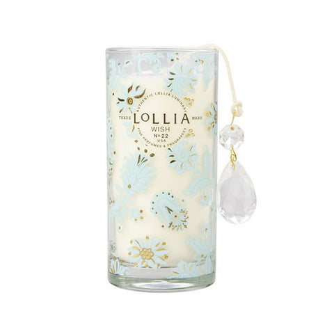 Lollia Wish No. 22 Sugared Pastille Petite Luminary Candle - ArtsiHome