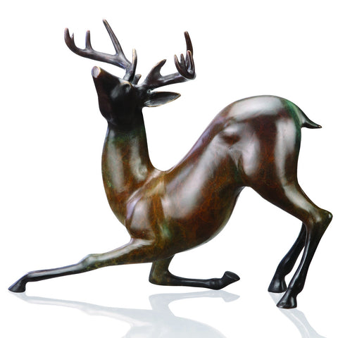 SPI Home Collection Contemporary Deer Sculpture - ArtsiHome