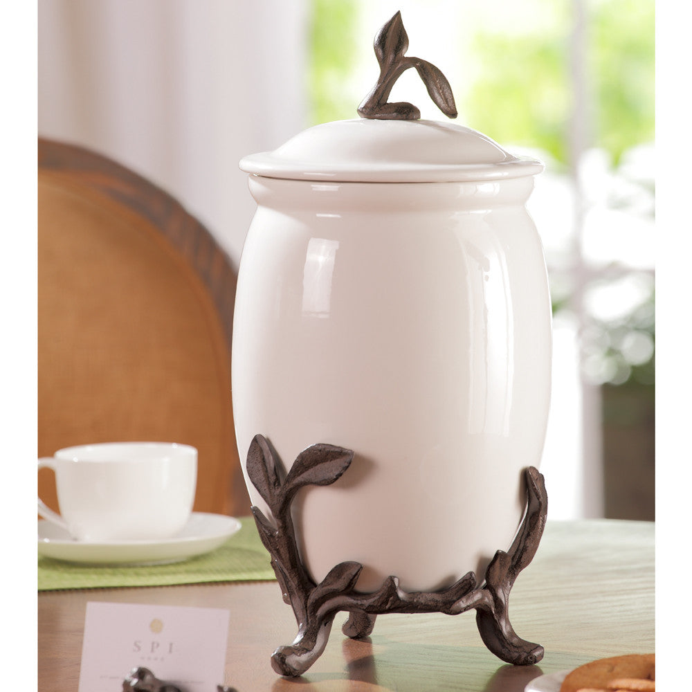 Twig Collection Ceramic Cannister - ArtsiHome - SPI Home
