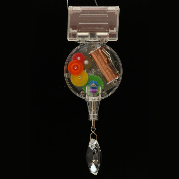 Kikkerland Rainbow Maker Solar Powered Swarovski Crystal - ArtsiHome
