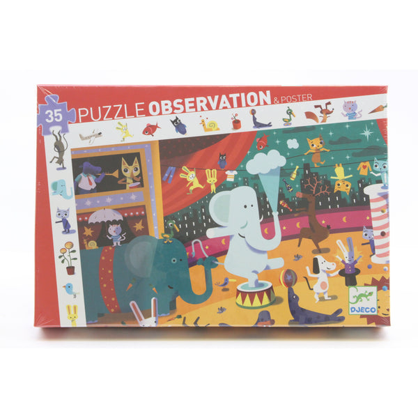 Circus Observation Puzzle - ArtsiHome
