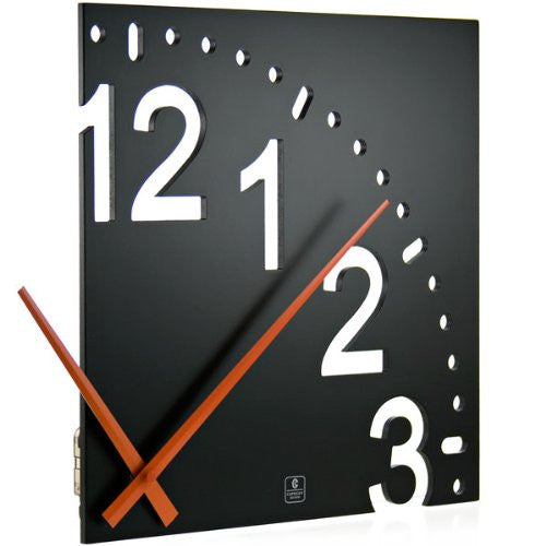 CupeCoy Home Fashion Infinity Contemporary Wooden Wall Clock - ArtsiHome - Cupecoy Design