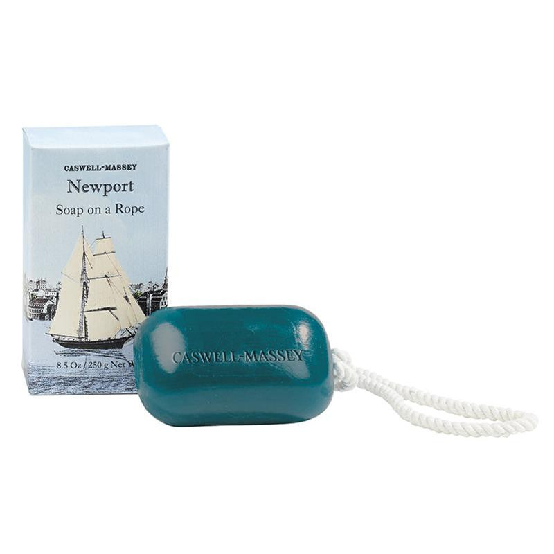 Caswell Massey Newport Fragrance Soap On a Rope - 8 oz Bar - ArtsiHome