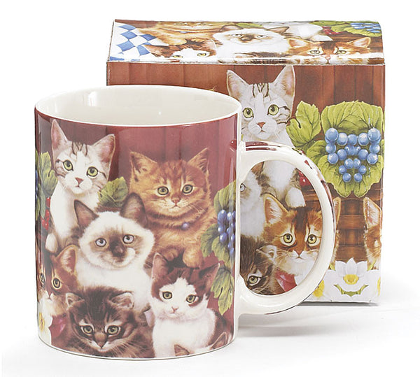 Burton & Burton Kittens for Everyone Coffee Mug - ArtsiHome