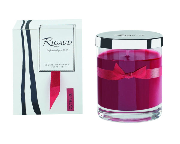 Rigaud Paris, Cythere, Bougie D'ambiance Parfumee, Medium Candle