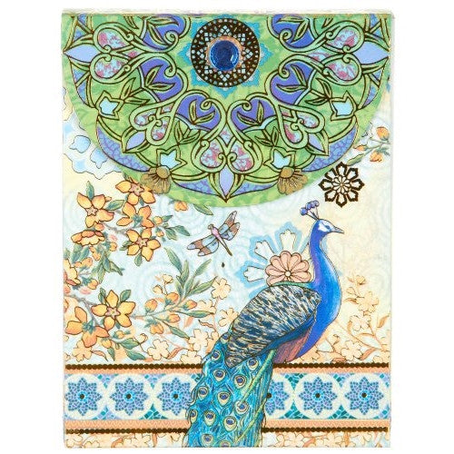 Pocket Note Pads - Blue Royal Peacock 53652 - ArtsiHome
