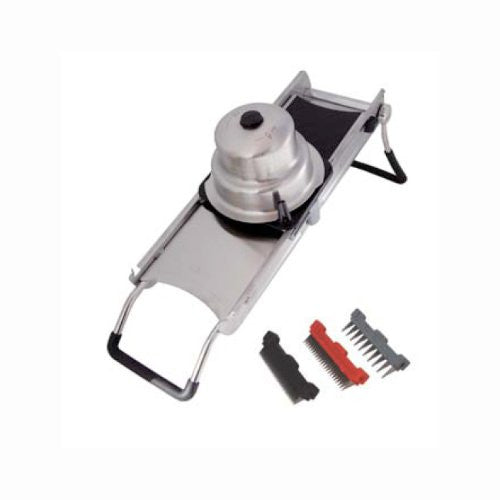 DE BUYER 2012.30 La Mandoline Ultra 2.0 Deluxe Slicer, Grey - ArtsiHome - De Buyer