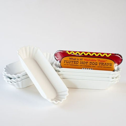 Washable 'Paper' 5.5in Hotdog Tray - ArtsiHome - OneHundred80