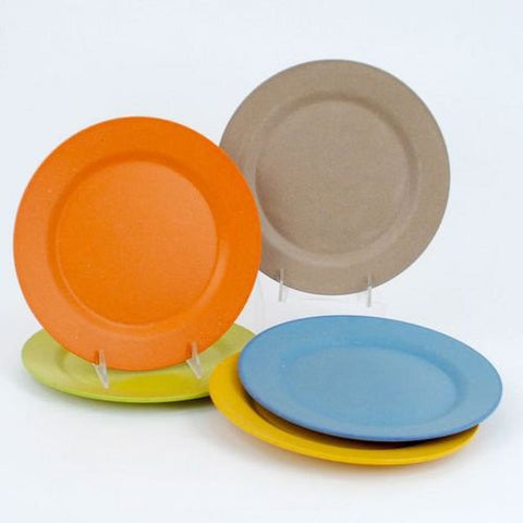 Bamboo Composite Salad Plates 8in - ArtsiHome