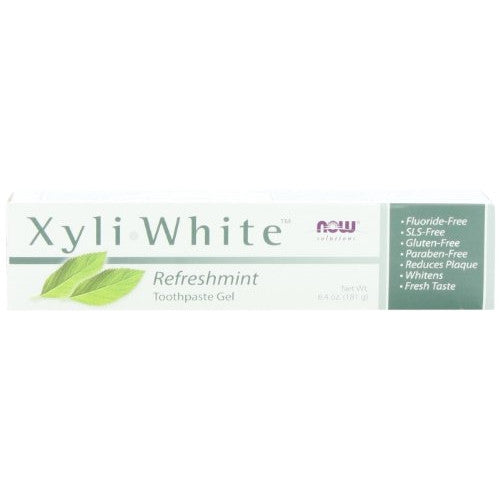 NOW Foods Xyliwhite, Refreshmint, 6.4 Ounce (Pack of 4) - ArtsiHome