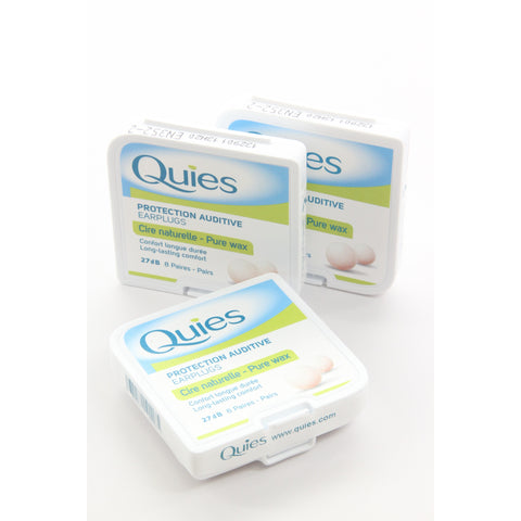 Boules Quies Protection Auditive Earplugs, Made in France Caswell-Massey Pure WAX 24 pairs ear plugs - ArtsiHome