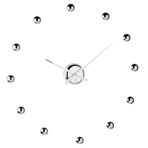CupeCoy Design Do It Yourself Ball Clock in Chrome Finish - ArtsiHome - Cupecoy Design