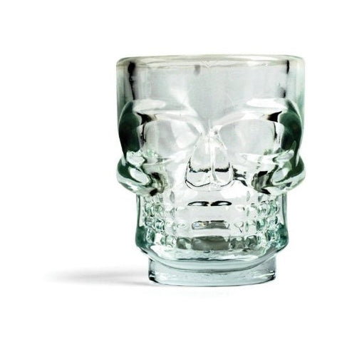 Kikkerland Skull Shot Glasses (Set of 8) - ArtsiHome