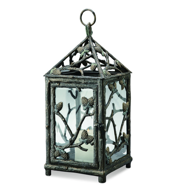 SPI Garden Collection Pine Cone Lantern - ArtsiHome