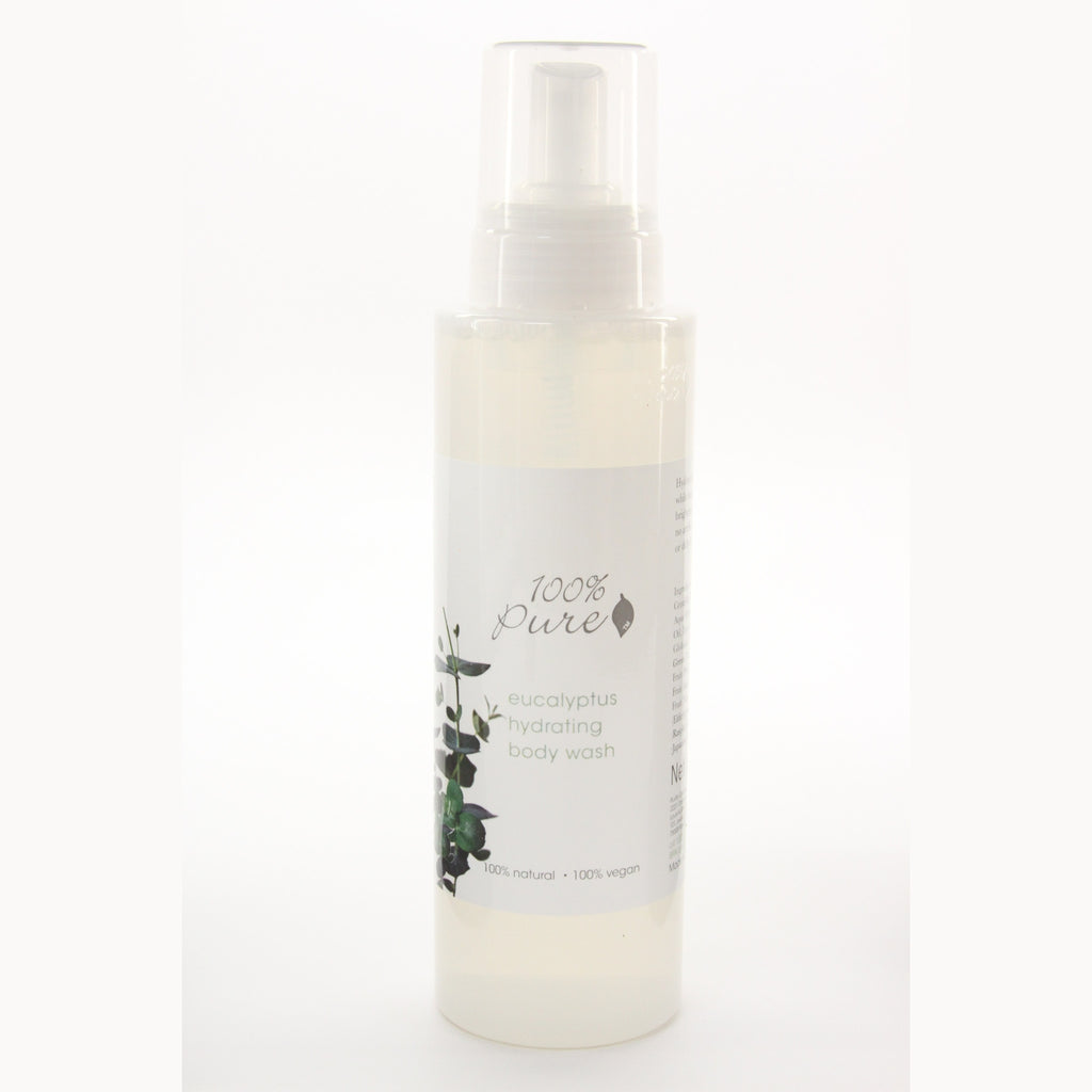 100% Pure Hydrating Body Wash - Eucalyptus 17 oz - ArtsiHome