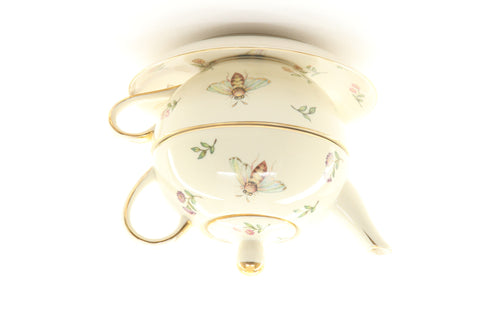 Burton & Burton Morning Meadow Teapot Duo - ArtsiHome
