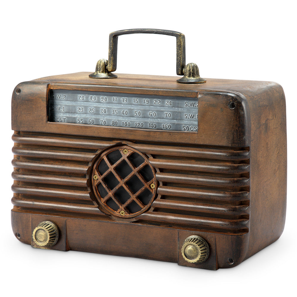 SPI Home Collection Old Time Radio with Bluetooth Speaker - ArtsiHome