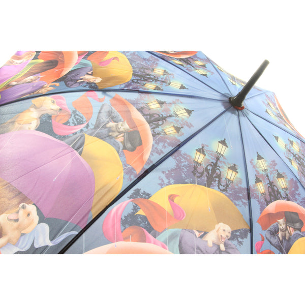 Galleria Enterprises Stick Umbrella A Walk In The Park Umbrellas - ArtsiHome