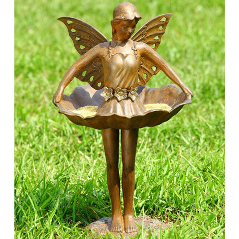 SPI Garden Collection Fairy Ballerina Birdfeeder - ArtsiHome