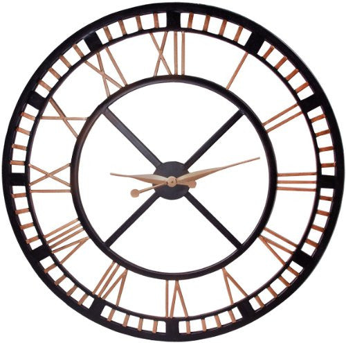Home Essentials 1052 Large Wall Clock - ArtsiHome