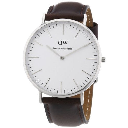 Daniel Wellington Men's Classic Bristol Silver Watch - ArtsiHome - Daniel Wellington